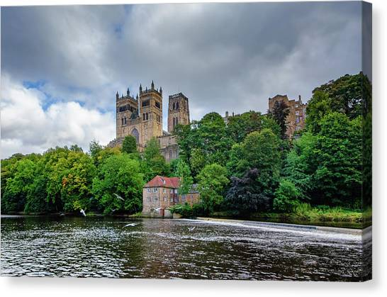 Cathedrals Canvas Print - Durham Cathedral by Smart Aviation