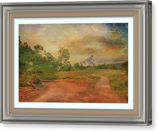 Dusk In The Hills Canvas Print