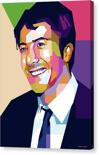 Dustin Hoffman Canvas Print