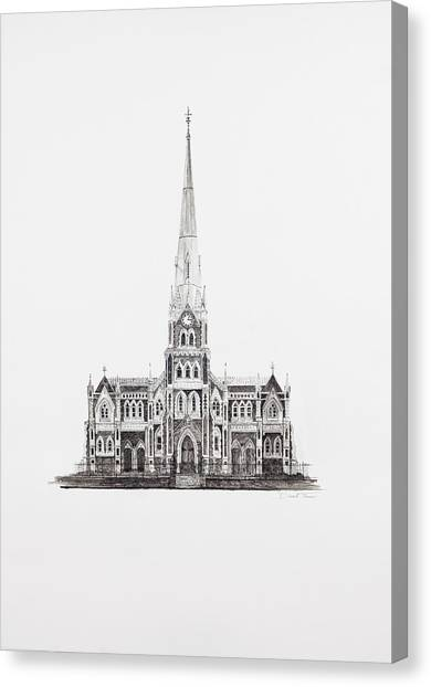 Dutch Reformed Church Graaff-reinet Canvas Print