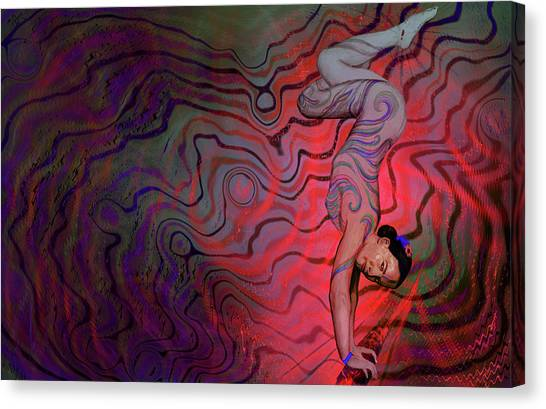 Dynamic Color2 Canvas Print