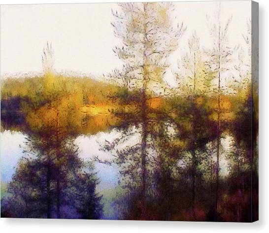 Early Autumn In Finland Canvas Print
