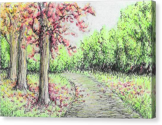 Early Autumn Canvas Print