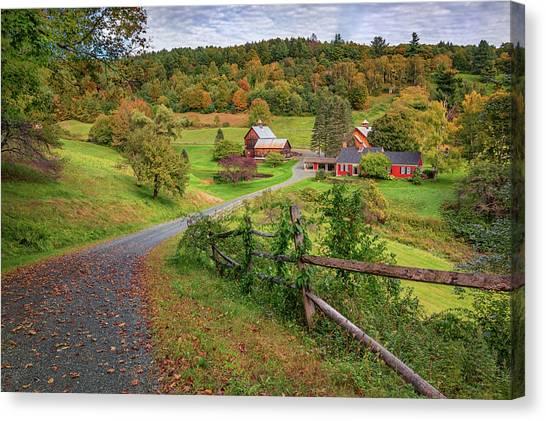 Early Fall At Sleepy Hollow Farm Canvas Print