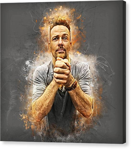 Earnestly Flanery Canvas Print