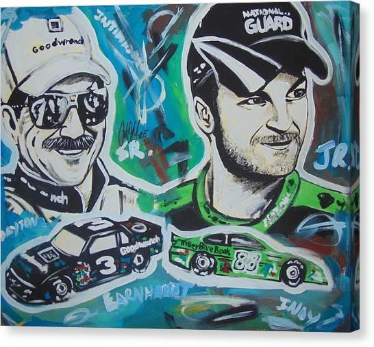Earnhardt Legacy Canvas Print
