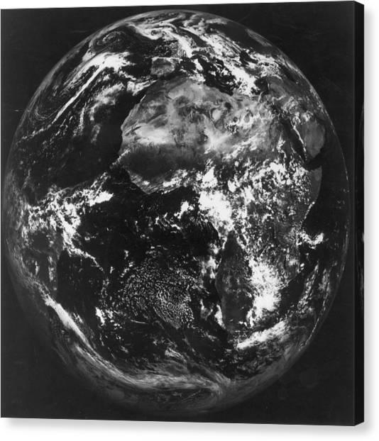 Earth Canvas Print by Keystone