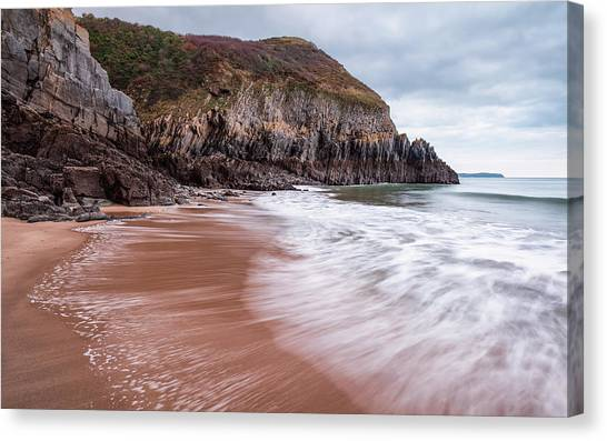 Canvas Print featuring the photograph Ebb And Flow by Elliott Coleman