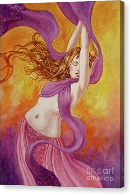 Ecstatic Dance Canvas Print