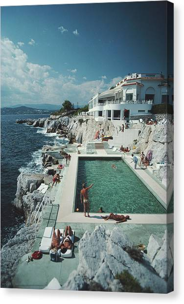 Eden-roc Pool Canvas Print
