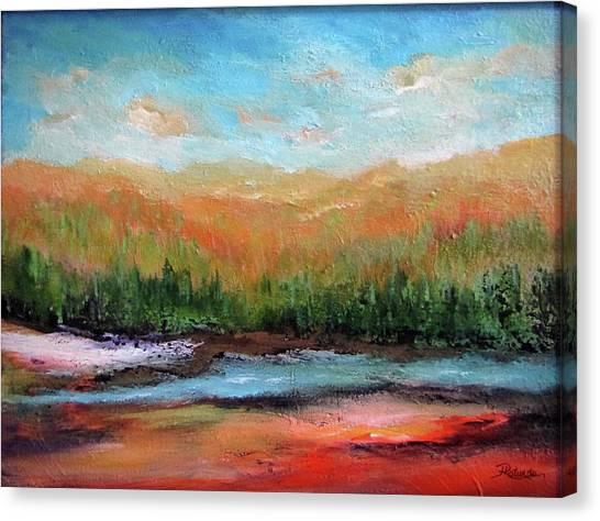 Edged Habitat Canvas Print