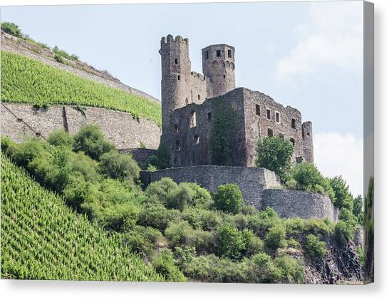 Ehrenfels Castle Canvas Print