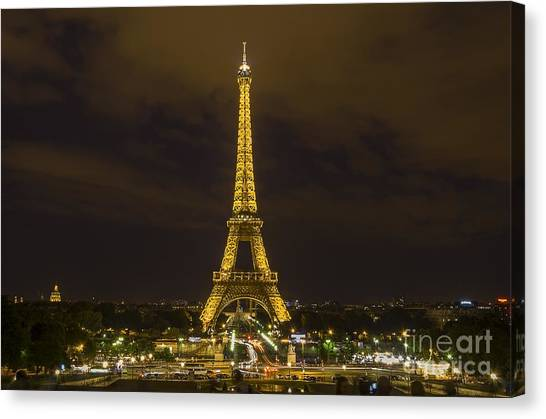 Eiffel Tower 1 Canvas Print