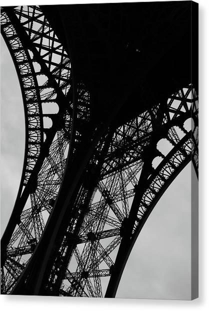 Eiffel Tower, Base Canvas Print