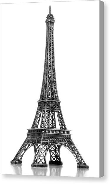 Eiffel Tower Canvas Print by Jamesmcq24