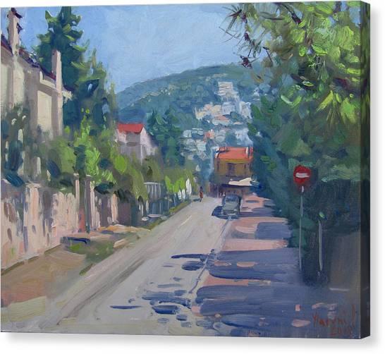 Athens Canvas Print - Ekali Athens by Ylli Haruni