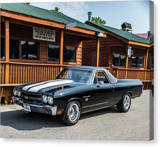 Canvas Print featuring the photograph El Camino by Michael Sussman