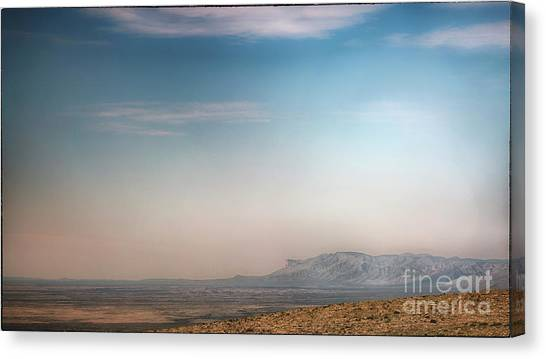 Guadalupe Mountains From A Distance Canvas Print