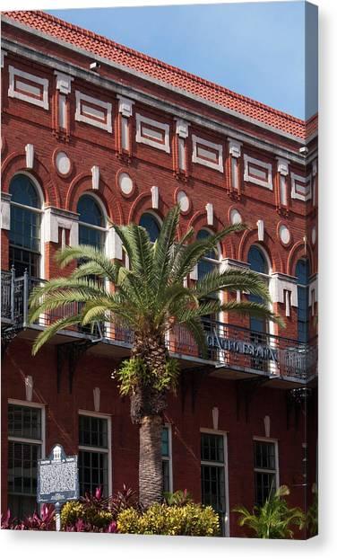 El Centro Espanol De Tampa Canvas Print