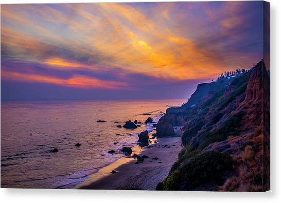 El Matador Sunset Canvas Print