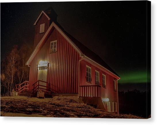 Elgsnes Chapel Canvas Print