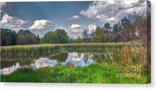 Ellis Pond Canvas Print