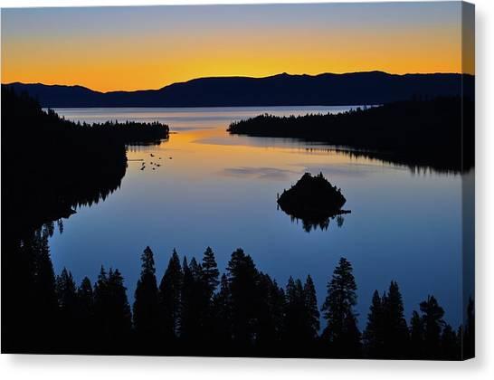 Emerald Bay Sunrise, Lake Tahoe, Ca Canvas Print
