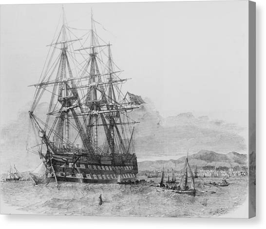 Emigration From Skye Canvas Print by Illustrated London News