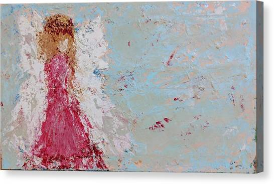 Emma's Angel Canvas Print