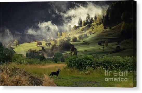 English Countryside Canvas Print