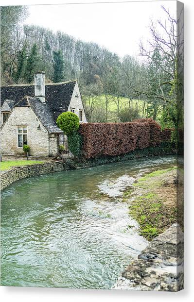English Creek Canvas Print
