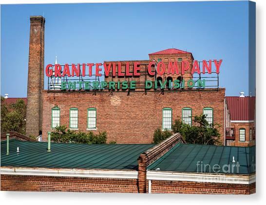 Enterprise Mill - Graniteville Company - Augusta Ga 2 Canvas Print