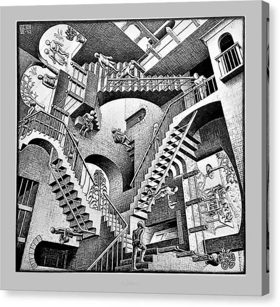 Escher 131 Canvas Print