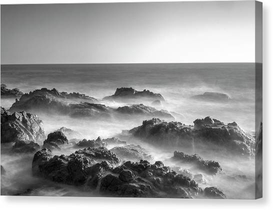 Canvas Print featuring the photograph Eternal Battle Of Wind And Water by Quality HDR Photography