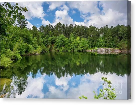 Euchee Creek Park - Grovetown Trails Near Augusta Ga 1 Canvas Print