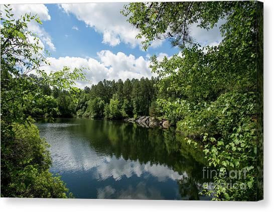 Euchee Creek Park - Grovetown Trails Near Augusta Ga 2 Canvas Print