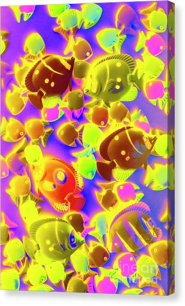 Marine Life Canvas Print - Exotic Tropics by Jorgo Photography - Wall Art Gallery