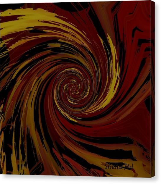 Explosion  Crossroad  Canvas Print