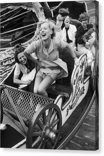 Fair Fun Canvas Print by Kurt Hutton