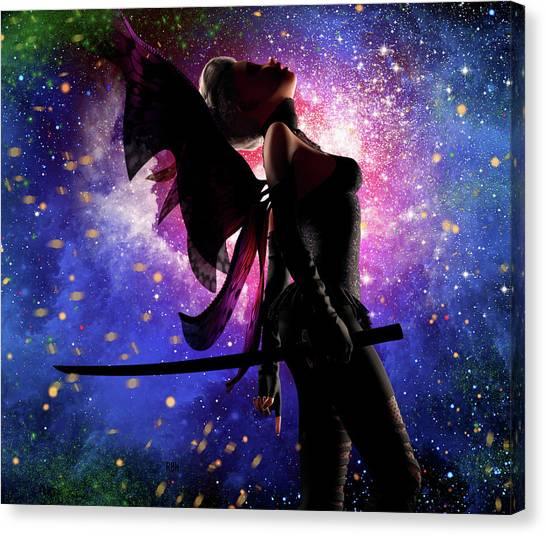 Fairy Drama Canvas Print