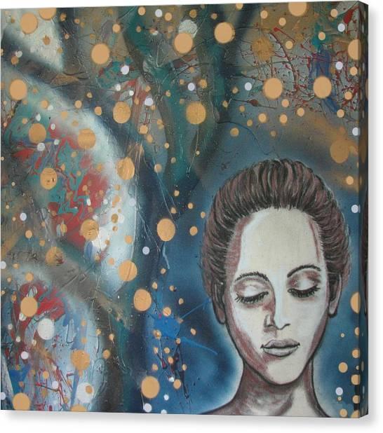 Fairy Lights Canvas Print