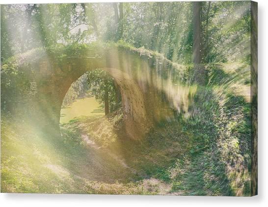 Fairytale Bridge. Kachanivka, 2017. Canvas Print