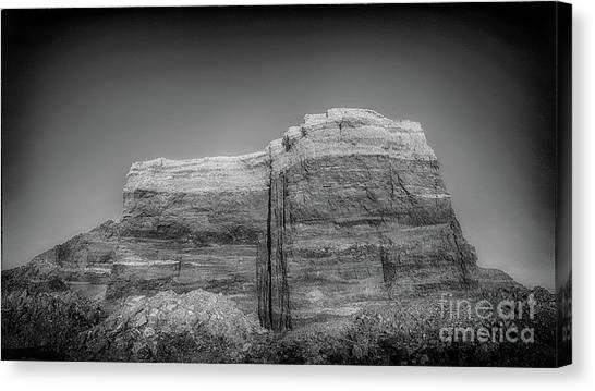 Faking Rancho De Taos Canvas Print