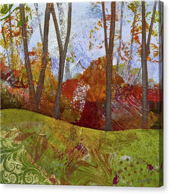 Barren Canvas Print - Fall Colors I by Shadia Derbyshire