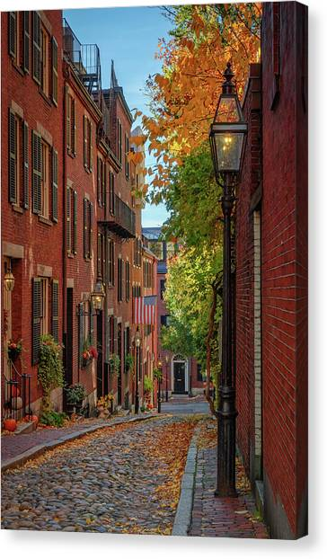 Fall In Beacon Hill Canvas Print