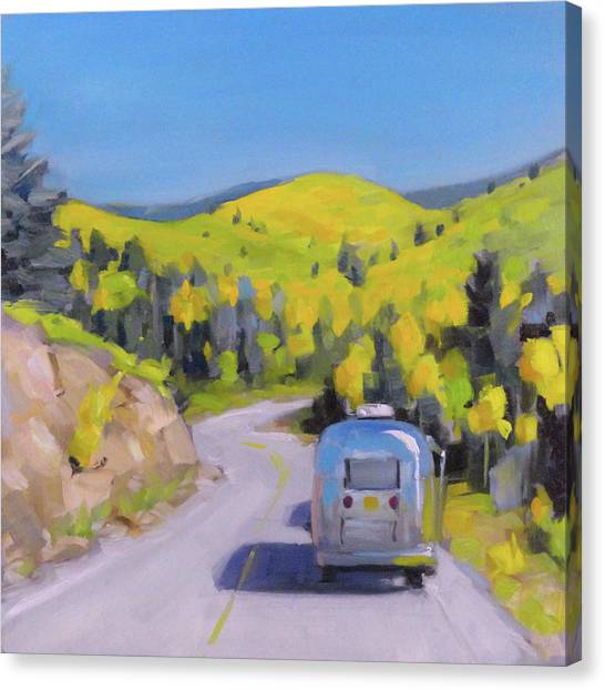 Fall Road Trip Canvas Print