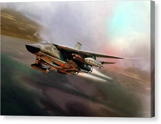 Linebackers Canvas Print - Fast And Furious by Peter Chilelli