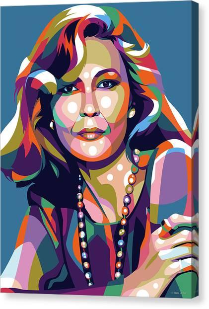 Faye Dunaway Canvas Print