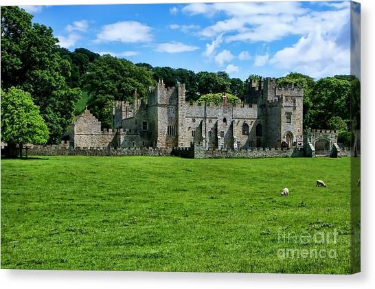 Featherstone Castle Canvas Print