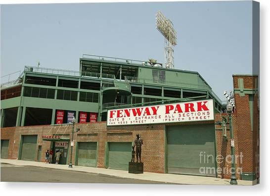 Fenway Canvas Print - Fenway Park by Getty Images